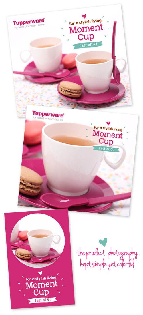 Moment Cup - Fuchsia , by Creative Clutters