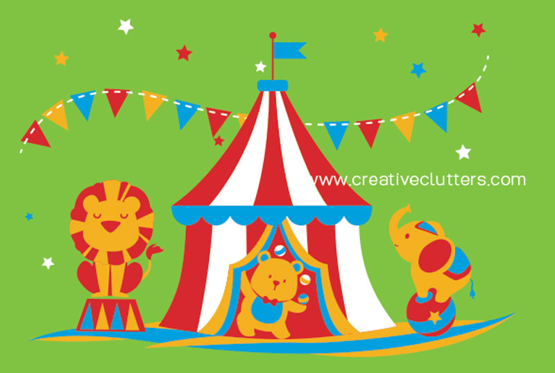 It's a Circus!, by Creative Clutters