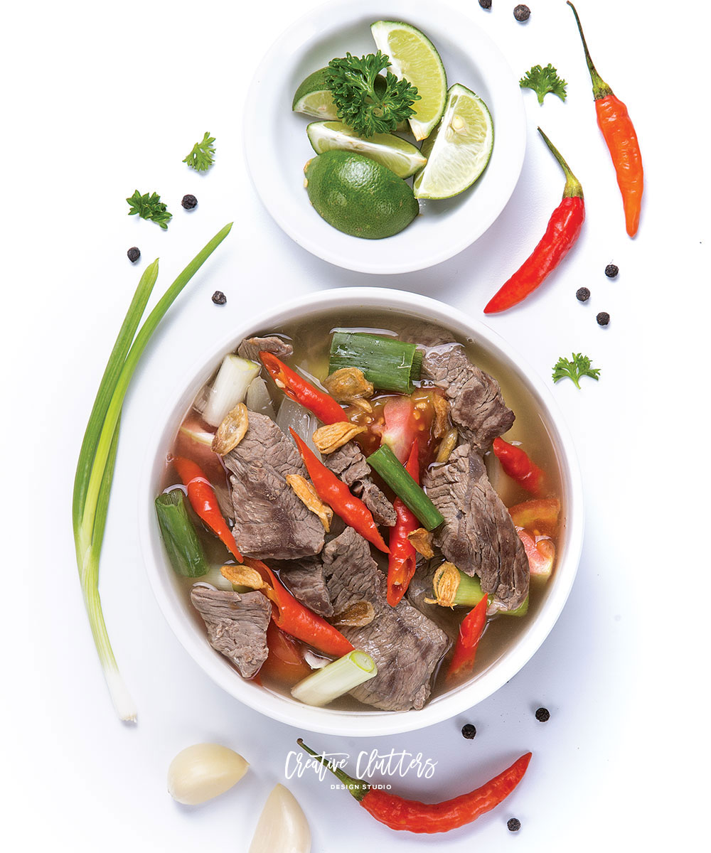 Indonesian food photography for Tupperware recipe, by Creative Clutters