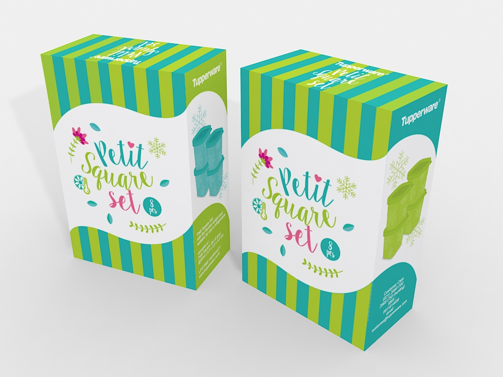 Cute packaging with illustration 01