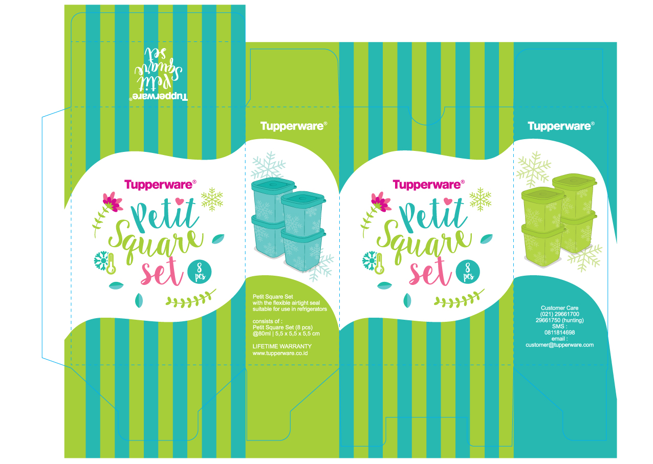 Petit Square Set, by Creative Clutters