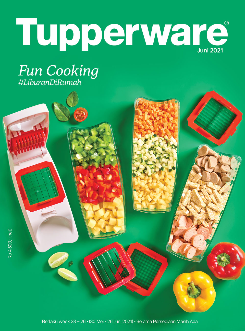 Creative concept, design, photography Tupperware Brochure, by Creative Clutters