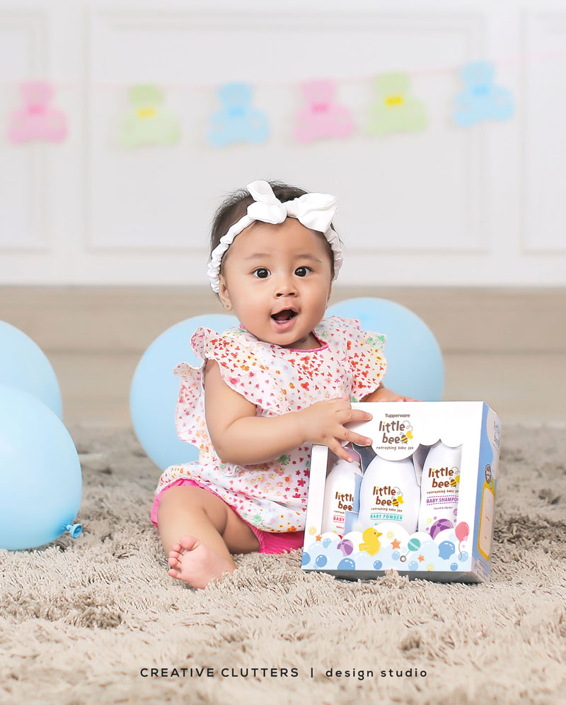Commercial Baby Photography + Packaging Design For Little Bee , by Creative Clutters
